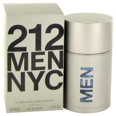 212 by Carolina Herrera Eau De Toilette Spray (New Packaging) 1.7 oz