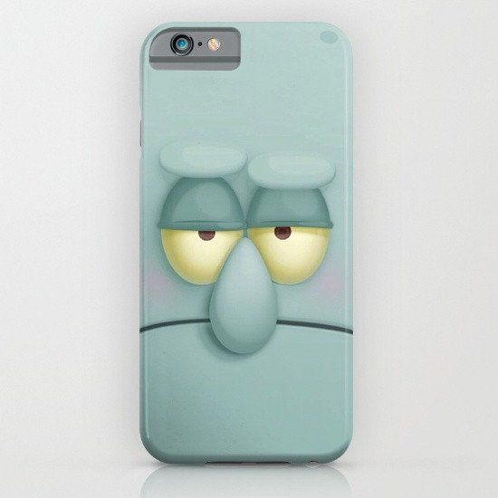 Squidward iphone case, smartphone - Balicase