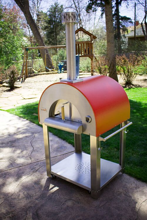 The Medio28 Portable Wood Fired Pizza Oven Is Perfect For Families Who Want  A Ilght,