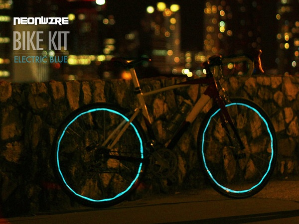 NeonWire bike kit is designed to be installed on your bicycle for maximum visibility at night. Stay safe and increase your presence on the road.