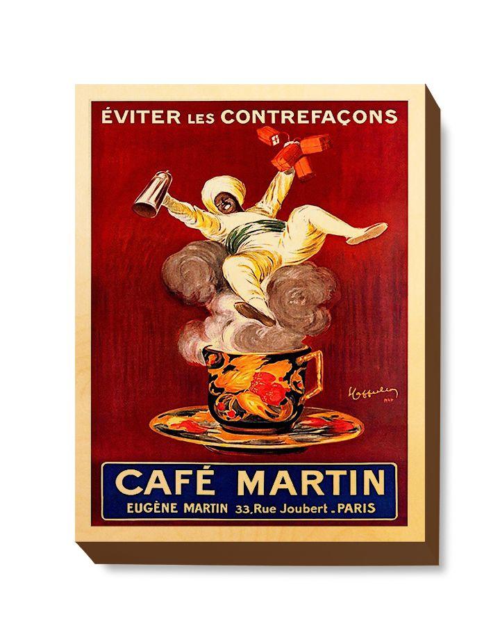 ADV 103 Advertising Art Cafe Martin