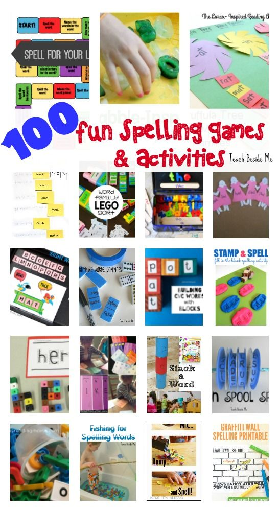 100 Fun Spelling Games and Activities