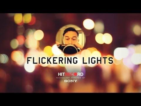Flickering Lights Reprise...why is joseph gordon levitt so arty and wonderful?