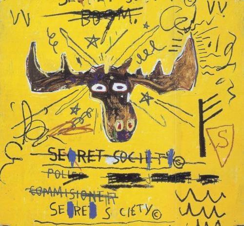 Jean Michel Basquiat / Secret Society - Moose! / @marcvose
