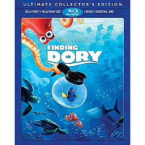 Finding Dory 3D Blu-ray Ultimate Collector's Edition | Disney Store From the creators of <i>Finding Nemo</i> comes an epic undersea adventure filled with imagination, humor and heart. Dive into the movie overflowing with unforgettable characters, and dazzling animation!