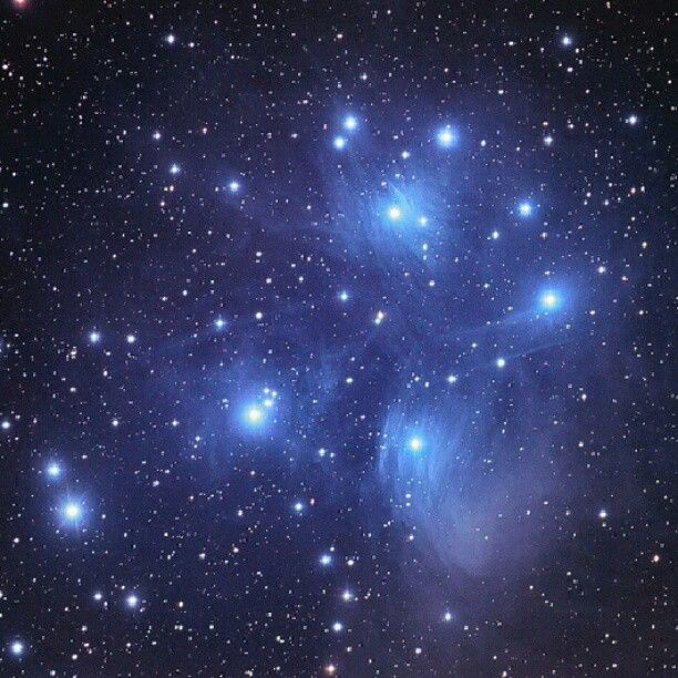 Pleiades star cluster - captured by Chuck Manges using an Orion ED102CF telescope