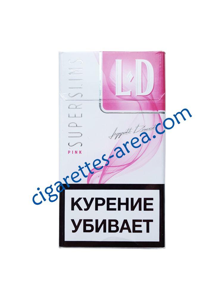 LD Super Slims Pink cigarettes