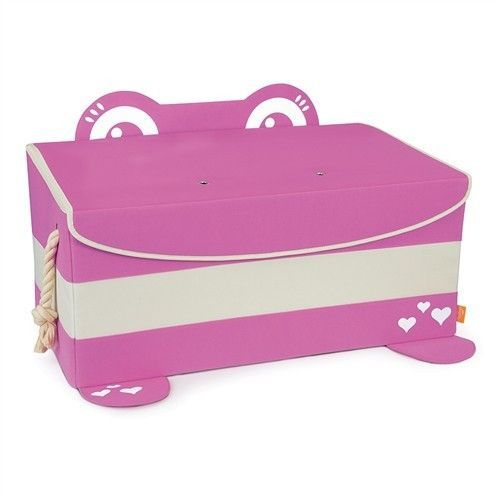 Mess Eater Toy Trunk Pink