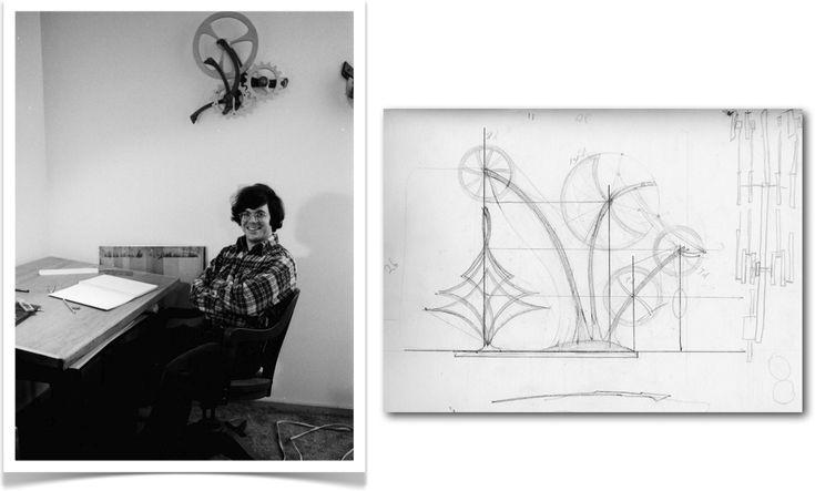 kinetic art design drawing - Google Search