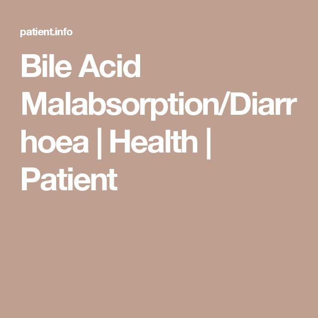 Bile Acid Malabsorption/Diarrhoea | Health | Patient