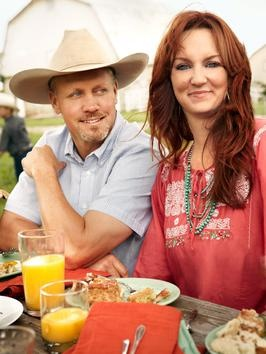 On the top of my favorite people list-Ree Drummond - The Pioneer Woman - & her hub, Ladd - Marlboro Man