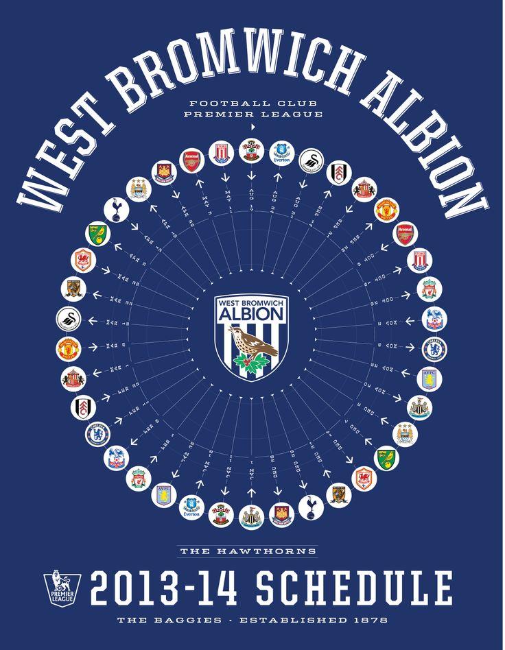 West Bromwich Albion 2013-14 Premier League Schedule - www.rwin888.com