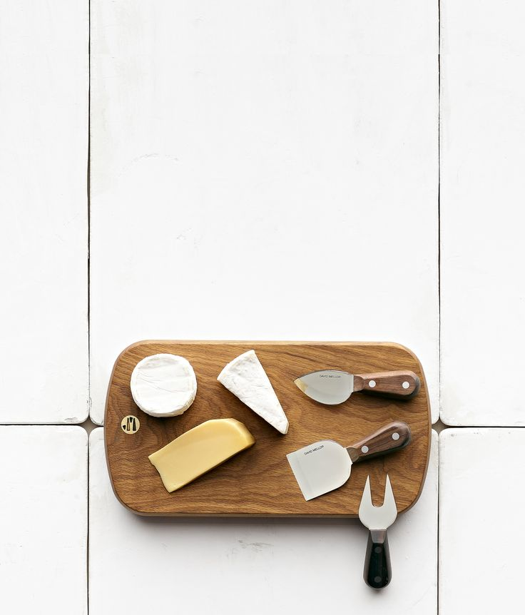 David Mellor Rosewood Cheese Set #cheeseboard #cheeseknife #davidmellor #heathceramics