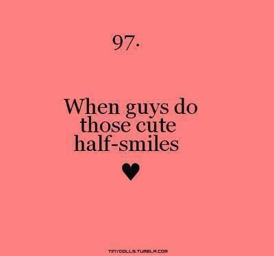 When guys do those cute