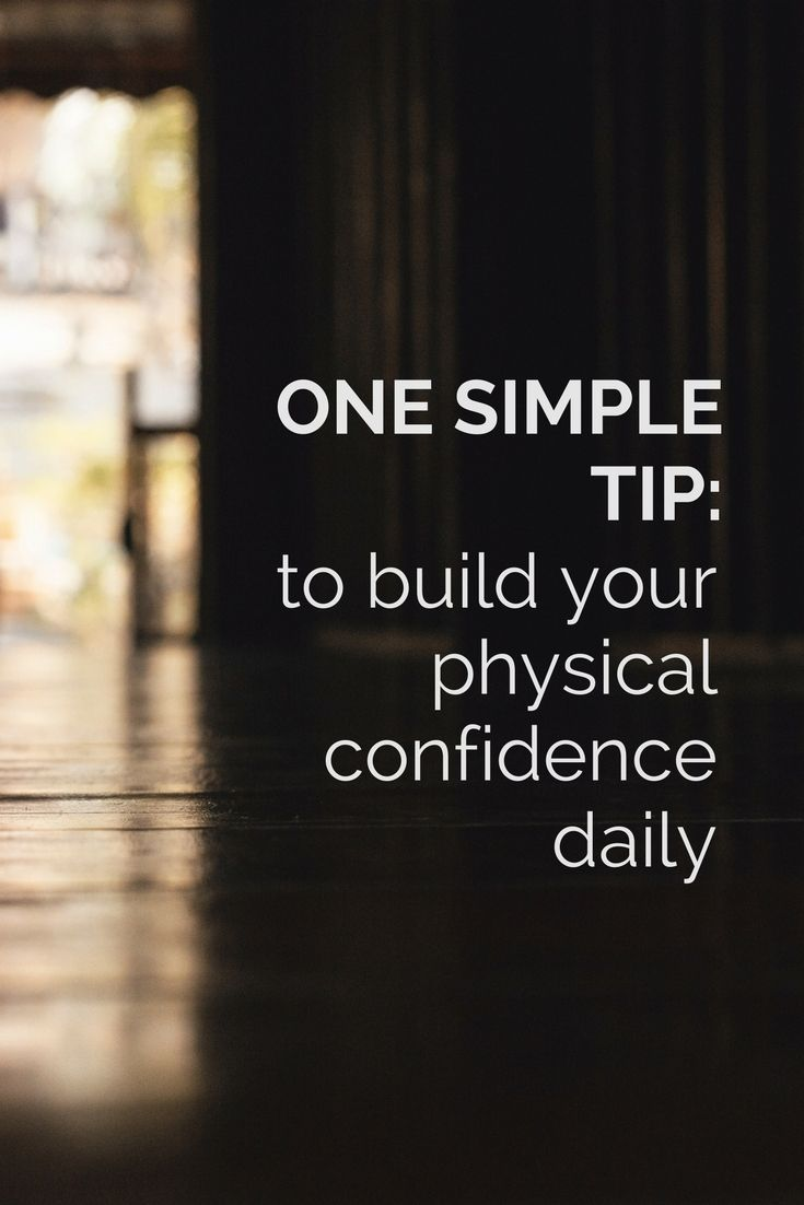 One simple tip to build your confidence and self-esteem every day