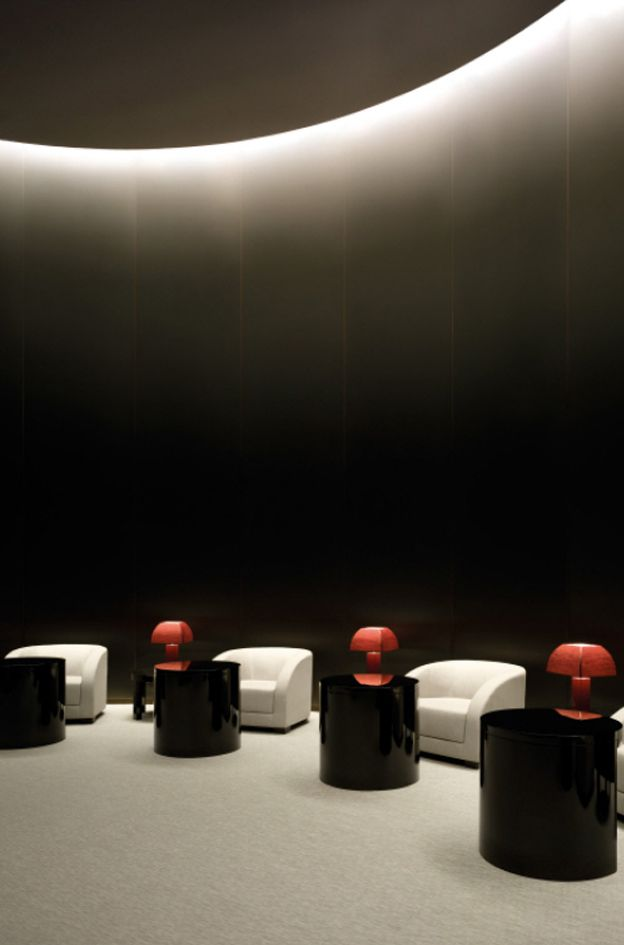 Conference room, Armani Hotel Dubai by Giorgio Armani and Wilson Associates _
