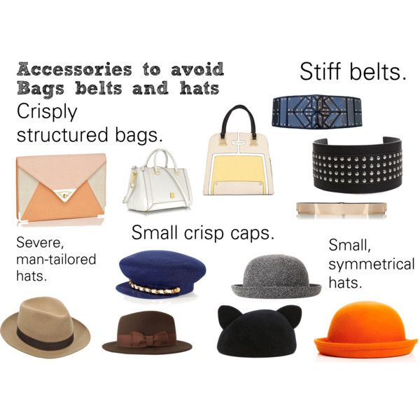 """Accessories to avoid - Bags, belts and hats"" by lightspring on Polyvore"