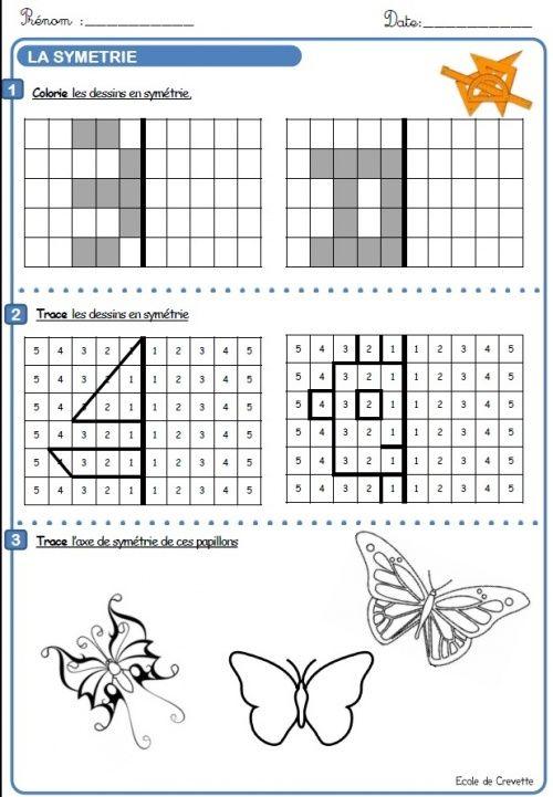 fichier géométrie CE1