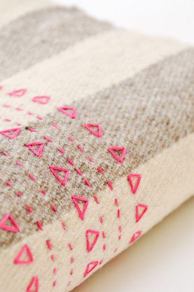 Pink Druzi Wool Blanket