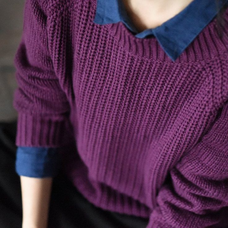 161 best Sweater-[Fantasylinen] images on Pinterest | Knitting ...