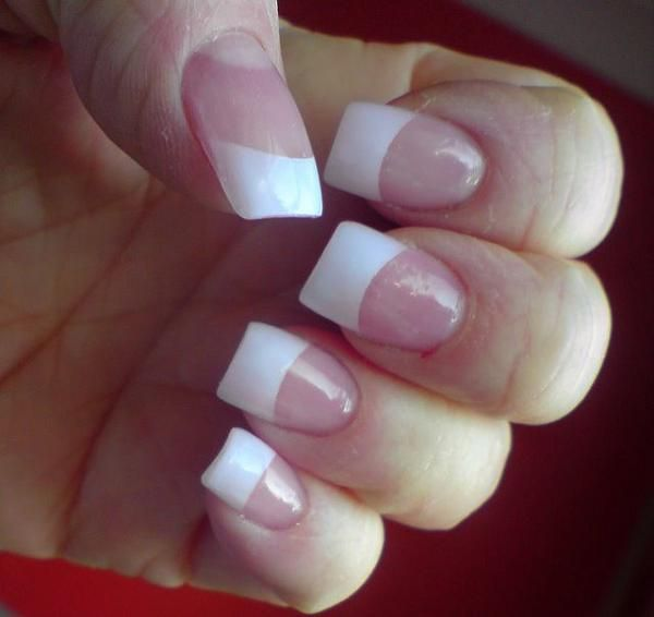 122 Nail Art Designs That You Won T Find On Google Images: 1000+ Ideas About White Tip Nail Designs On Pinterest