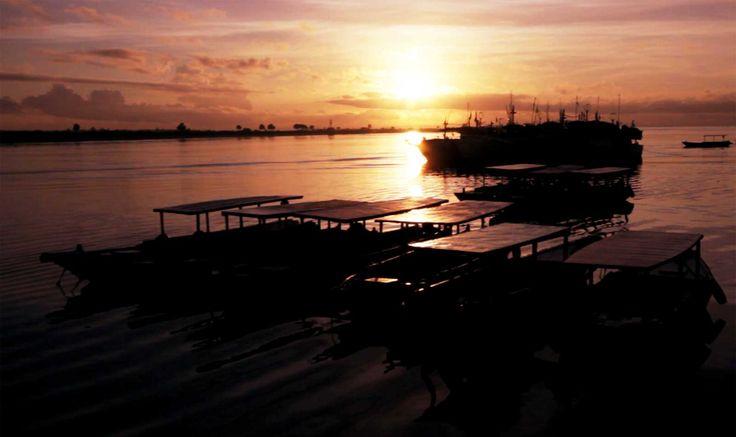Tanjung Benoa, Bali at sunrise