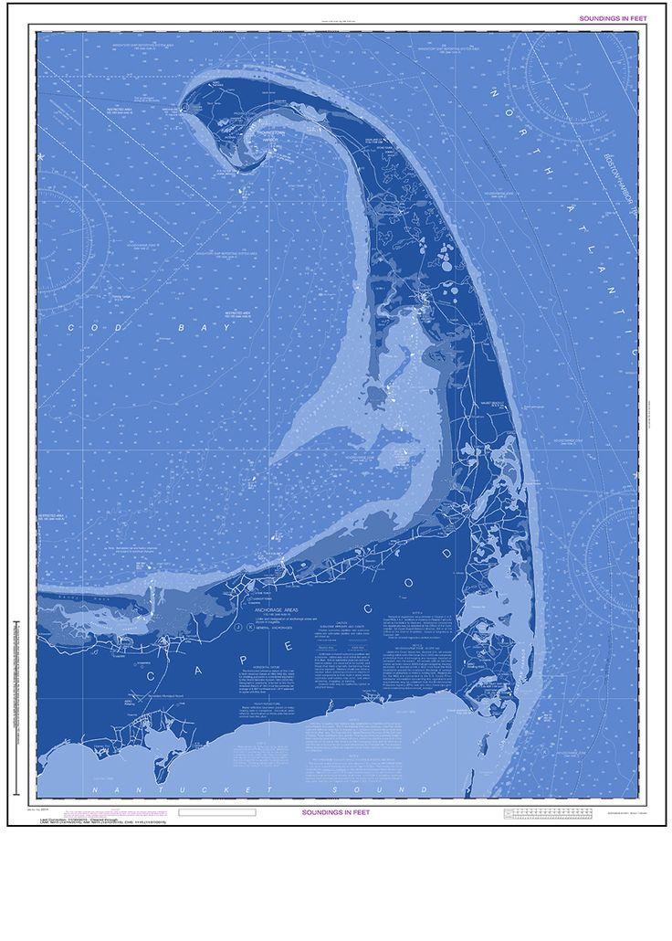 decorative nautical charts