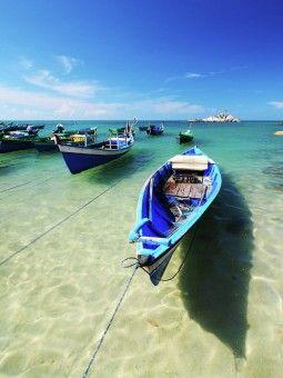 By Taufiq Hidayat: view of Matras Sungaiiat Beach at Bangka Island - Indonesia by Ayofoto!