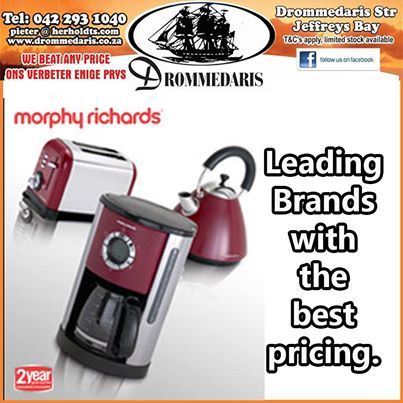 Don't feel bad that you missed out on our giveaway last month. Drommedaris have the full range of Morphy Richards appliances at prices that are unbeatable. Visit our store and choose your color today. #homeappliances #lifestyleproducts #leadingbrands