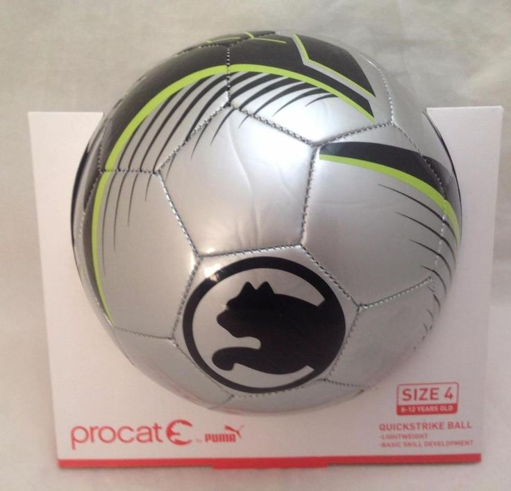 Soccer Ball Procat by Puma Quickstrike Ball Size 4 8-12 Years Old ...