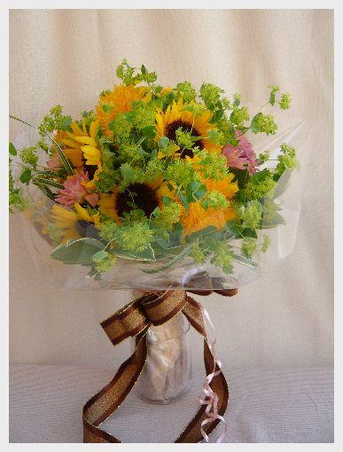ひまわりの花束 Sunflower Bouquet