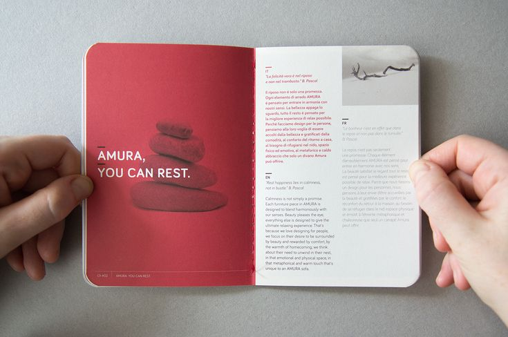 The new brand of furniture Amura attaches at the products a booklet about the brand philosopy. The client receives the passport of the product. This booklet is also the product warranty. All the Amura products are Made in Italy.