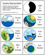 Creation printables for lapbooks, etc. The cards are good for story sequencing.