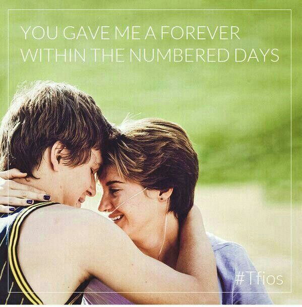 ~You gave me a forever within the numbered days~ Hazel Grace Lancaster Tfios
