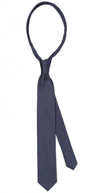 Mooi blauwe 100% zijde stropdas