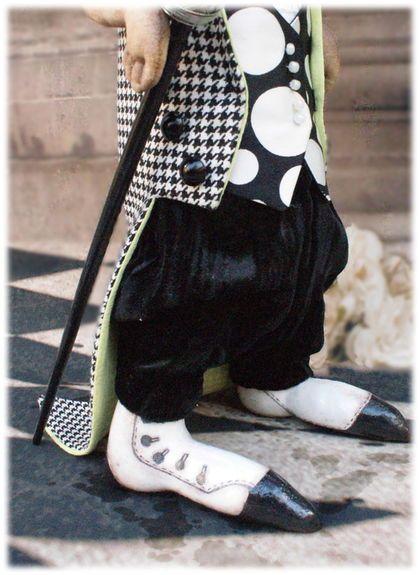 """Коллекционные куклы ручной работы. АВторская игрушка """"Такс лорд"""". Кукольная страна STENI (Анастасия). Ярмарка Мастеров. Фрак"""