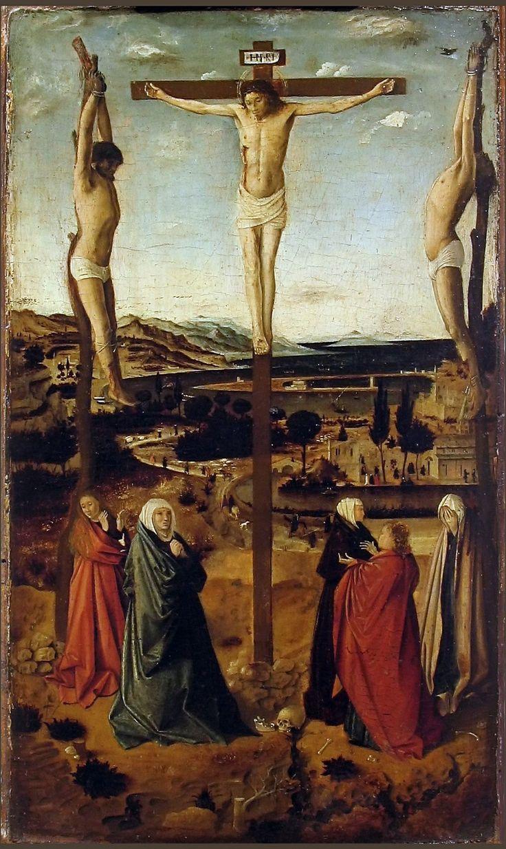 Crocifissione di Sibiu, del 1460   conservata al Muzeul de Artă di Bucarest,