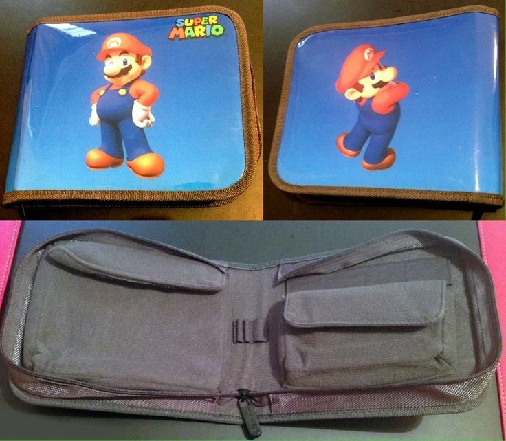 Nintendo DS Super Mario Carry Case Excellent Condition Official Product