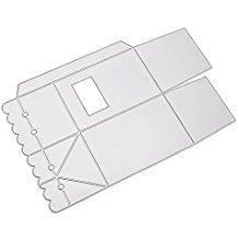HuntGold Kohlenstoffstahl Fliesen Süßigkeiten Kästchen Stanzformen für Scrapbook DIY-Schablone Album Papierkarte
