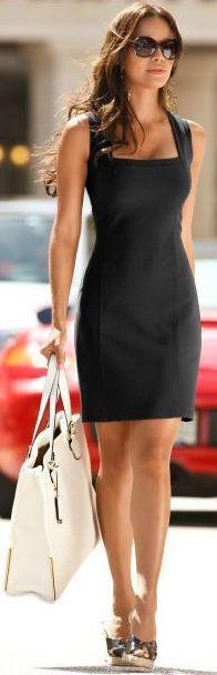 el clásico vestido negro #lbd