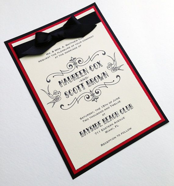 37 Best Images About Wedding Invitations On Pinterest