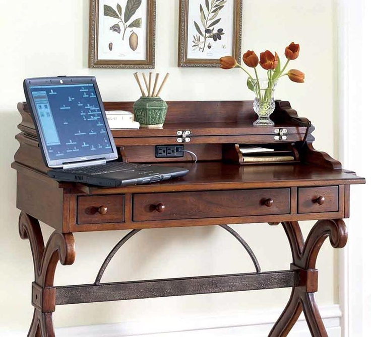 Writing Desk w Convertible Top