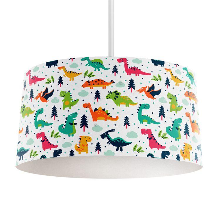 Lampenkap Happy dinosaurs   Bestel lampenkappen voorzien van digitale print op hoogwaardige kunststof vandaag nog bij YouPri. Verkrijgbaar in verschillende maten en geschikt voor diverse ruimtes. Te bestellen met een eigen afbeelding of een print uit onze collectie. #lampenkap #lampenkappen #lamp #interieur #interieurdesign #woonruimte #slaapkamer #maken #pimpen #diy #modern #bekleden #design #foto #dino #dinosaurus #prehistorisch #jurassic #jongen #jongenskamer #stoer #babykamer