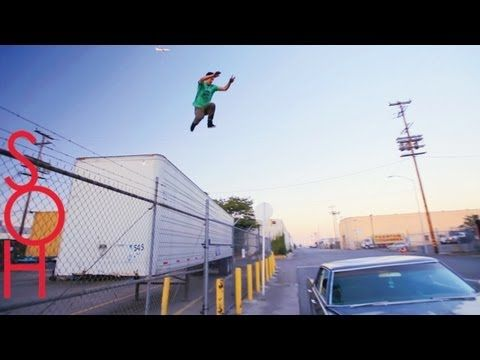 Parkour and Freerunning Stunts - RIDING WITH A GHOST by Sub Over Hype - YouTube