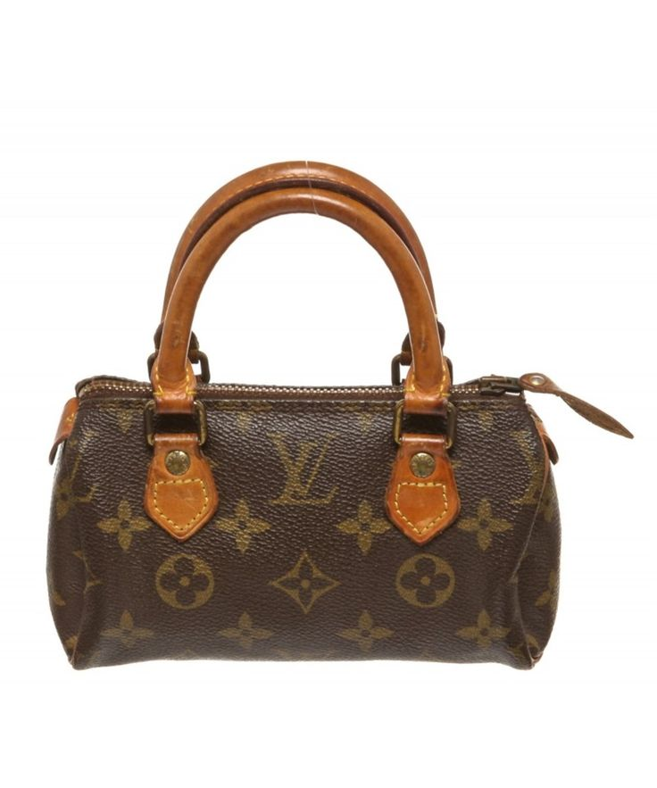 LOUIS VUITTON Pre Owned - Louis Vuitton Monogram Canvas Leather Mini Speedy Bag'. #louisvuitton #bags #leather #hand bags #canvas #lining #