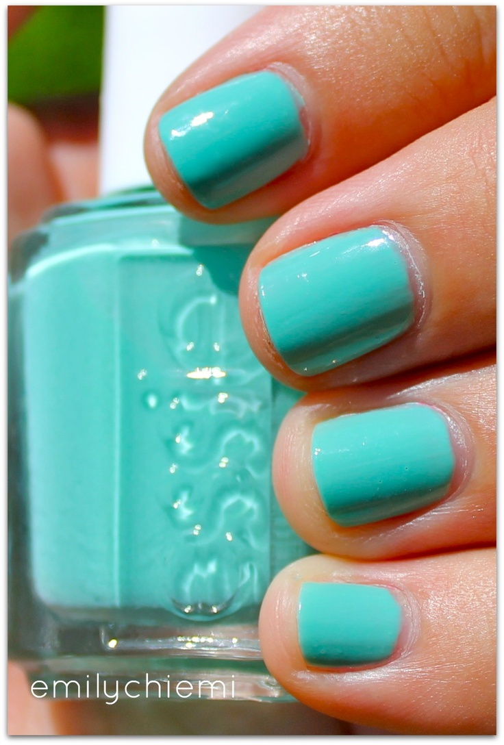 Essie: Turquoise & Caicos - got this today, can't wait to try it!