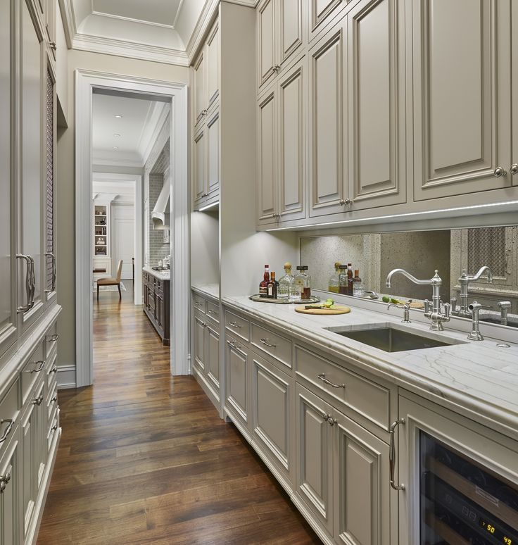 Kitchen With Butlers Pantry Designs: 328 Best Decor: Butler's Pantry Glamour Images On