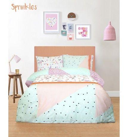 Freckles Single Bed Quilt Cover Set - Sprinkles