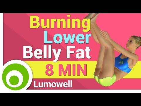 Lower Belly Fat Burning Exercise for Women - YouTube