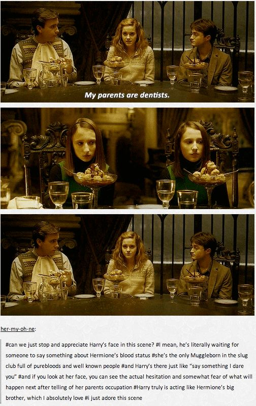 That time he DARED you to talk shit about Muggle-borns.   22 Times When Harry Potter's Bitch Face Was Better Than Yours